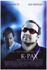 K-PAX Movie POSTER 27x40 B Kevin Spacey Jeff Bridges Mary McCormack Alfre