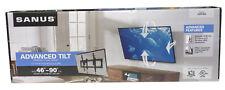 """SANUS VLT6 avanzata TILT TV Montaggio a Parete per 46"""" –90"""" Televisore < 68kg fino a VESA 600x400"""
