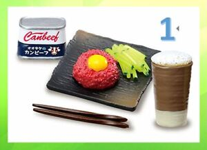 Re-Ment Miniature Petit Sample Super! My own cooking Meal 650yen rement No.01