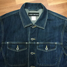 ISSEY MIYAKE Paint denim jacket size 4 Made in Japan size ITA M/L