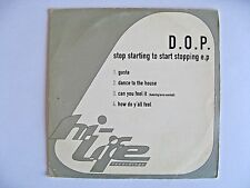 D.O.P. – Stop Starting To Start Stopping e.p.- CD EP – Hi Life Recordin 577947-2