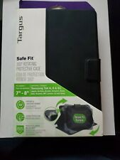"TARGUS Safe Fit Protective Case Tablets 7""-8"" For Apple/Samsung/Dell/HP/Asus NEW"