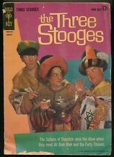 THE THREE STOOGES No. 11 1963 Gold Key Comic Book ALI BLAH BLAH & THE 40 THIEVES