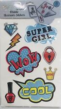 POP SHOP MOBILE ACCESSORY STICKERS (8) By IN Global ( SUPER GIRL)