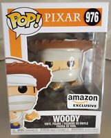 Funko Pop Vinyl Figure Pixar Toy Story Woody 976 Amazon Exclusive Mummy