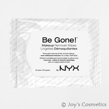 "1 NYX Be Gone! Makeup Remover Wipes  ""BGMW 01""   *Joy's cosmetics*"
