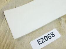 """High Temp FDA 3"""" wide White Silicone Rubber Sheet 1/8"""" Thick Temperature Strip"""