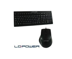 Aufrüstoption LC Power Eingabeset, Tastatur und optische Maus, schwarz