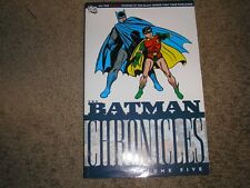 Batman Chronicles, Vol. 5 Finger, Bill VeryGood