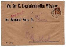Bayern DIENST 6 EF schöner BELEG 40EUR (B2308