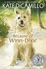 Because of Winn-Dixie by Kate DiCamillo (2015, Paperback)