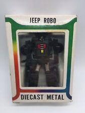 Vintage Jeep Robo Machine Die Cast Toy Transformers Hound Robot Gobots MISB 80's