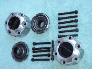 Free Wheel Manual Locking Hubs for Nissan Pathfinder Terrano D21 D22 Navara '90+