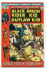 Western gunfighters 8 Vf- (1970) Marvel Comics   *CBX2B