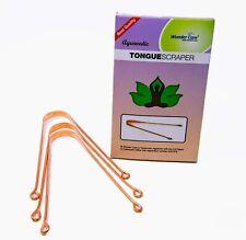 AU Copper Metal Tounge Cleaner Ayurvedic Scraper for Men/Women Oral Care Latest