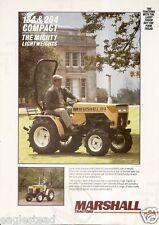 Farm Tractor Brochure - Marshall - 184 264 - Compact  (F2291)
