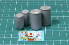 E-040 – Plastic Chemical Storage Drums Set#2 , Eureka XXL, 1/35