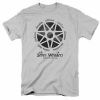 American Horror Story Seven Wonders T Shirt Licensed Horror TV Show Tee Silver
