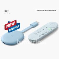 Google Chromecast with Google TV 4К Media Streamer with Google Assistant - Sky