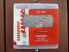 SRAM PC951 9 SPEED MOUNTAIN OR ROAD BIKE CHAIN *NEW* X0 X9 X7