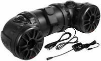 "Boss ATV85B Dual 8"" New  700w ATV/Marine Powered Speaker System w/ Bluetooth"