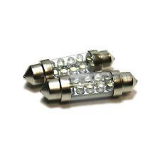 2x Mini One R57 Bright Xenon Blanco LED matrícula actualización Bombillas
