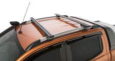 Rhino Pair Vortex Roof Racks Ranger WILDTRAK 2012 on for Factory Rails Black