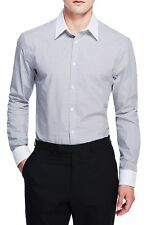 Marks and Spencer Men's Slim Check Casual Shirts & Tops