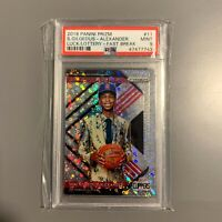 2018 Prizm Fast Break Shai Gilgeous-Alexander Luck of the Lottery PSA 9 Rookie