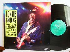Lonnie Brooks-live from Chicago-Bayou FULMINI al 4759 STATI UNITI LP 1988