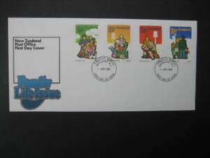 NEW ZEALAND FDC- 1981 FAMILY LIFE  SG 1239/42