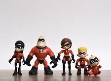 Jakks Pacific Disney The Incredibles Family Set of 5 Figures