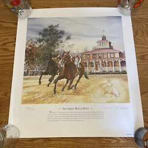 Michael Geraghty / The Great Match Up - Seabiscuit & War Admiral / #1938/1938