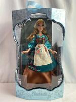"Disney Limited Edition 70th Anniversary 17"" Peasant Dress Cinderella Doll NEW"