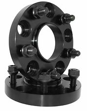 2 HUBCENTRIC 5x114.3 BLACK WHEEL SPACERS ADAPTER 20MM THICK FITS NISSAN INFINITY