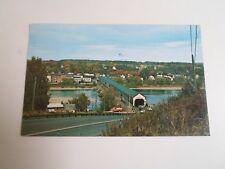 Longest Covered Bridge In The World 1282 ft Hartland New Brunswick CANADA §B3111