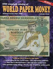 1999 Standard Catalog of World Paper Money ed. by Colin Bruce