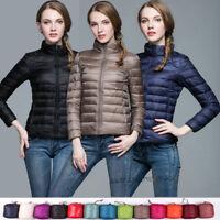 UNIQLO'S Factory Sale! Women's 90% Duck Down Coat Jacket Puffer Coat Ultralight