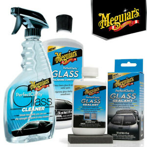 Meguiars - Perfect Clarity Glass Cleaner, Compound & Sealant Kit - 3pc