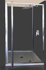 Semi-Frameless Pivot Door Shower Screen 1200x1000x1900