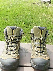 Mens Salomon summer mid hiking boots clima shield sz 8