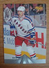 WAYNE GRETZKY 1996-97 Pinnacle Premium Stock Hockey #1 HOF NY Rangers Great One