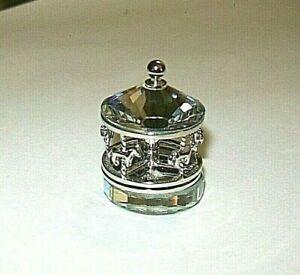 Swarovski Crystal Memories Classics Carousel Merry-Go-Round , no box ,