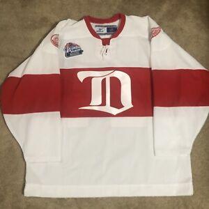 Reebok Chris Chelios Detroit Red Wings 2009 Winter Classic NHL Hockey Jersey XL