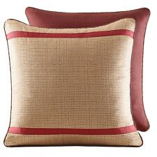 (2) Croscill Euro Pondera Pillow Sham Shams 26'' x 26'' Nip