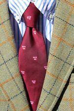 Harvard Co-op / Rivetz of Boston Gentleman's Maroon Poly Harvard 'Veritas' Tie