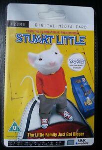 Stuart Little Rare Collectors Sealed MMC 128MB Digital Media Card  Movie Film