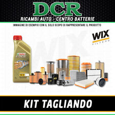 KIT TAGLIANDO AUDI A6 2.7 TDI 190CV 140KW DAL 10/08 AL 03/11 + CASTROL LL 5W30