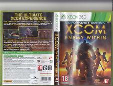 XCOM Enemy Within - Commander Edition (xBox 360)PAL