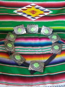 $350~SOLD OUT~Southwestern Cowgirl Western Silver Cross Concho Belt~Sissie & Me